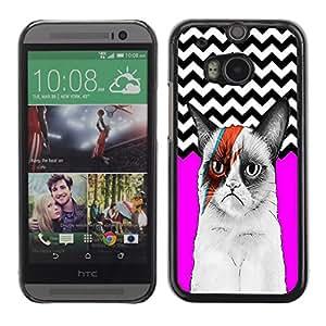 Jordan Colourful Shop - FOR HTC One M8 - To start a day? - Personalizado negro cubierta de la caja de pl??stico