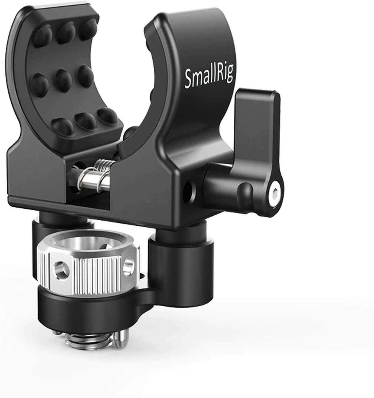 2114 SMALLRIG Ballhead with Locating Pins for ARRI Standard and Rubber Ring