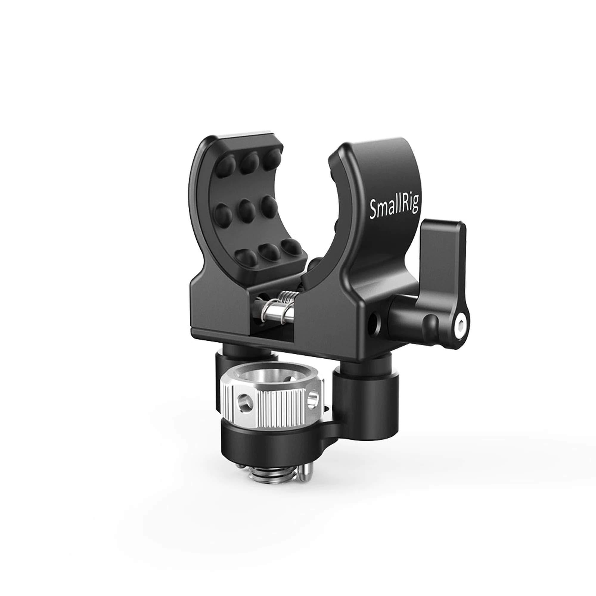 SMALLRIG Shotgun Microphone Holder (Locating Screw for ARRI) BSM2368 by SMALLRIG