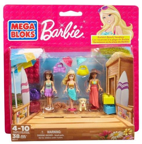 Mega Bloks Barbie Beach Vacation