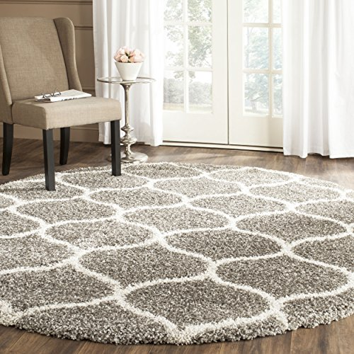 AUTHENTIC Safavieh Hudson Shag Collection SGH280B Grey And