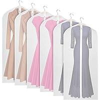 Foldable Garment Bags Lightweight Clear Suit Bag for Long Dress 60cm*152cm Set of 6