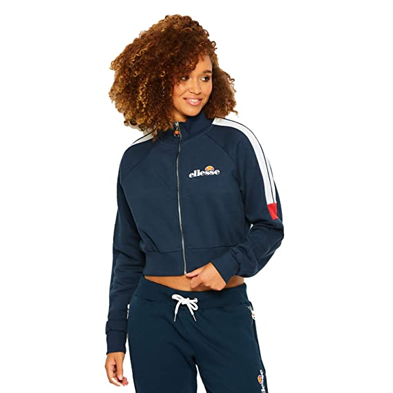 db786d840f ellesse Women's Alagna Track Top: Amazon.co.uk: Clothing