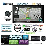 Pioneer In Dash Double Din AVIC-8200NEX Navigation DVD Receiver with 7' Touchscreen, Kenwood CMOS-22P Backup Camera and a SiriusXM SXV300v1 Tuner, Antenna and a FREE SOTS Air Freshener