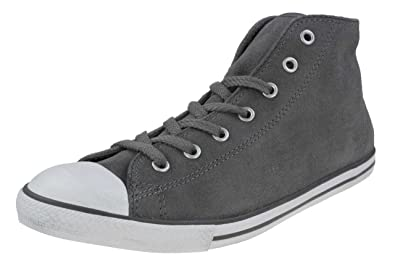Mid Dainty Converse Women Sneaker Grey Ct Chucks Leather f76bgy