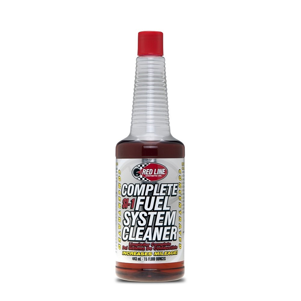 Red Line SI-1 Fuel System Cleaner - 15 oz. (Case 12 Bottles) by Red Line Oil