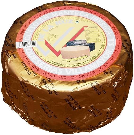 De La Huz Queso Gourmet en Manteca, Leche Cruda Grande - 3250 gr: Amazon.es: Alimentación y bebidas