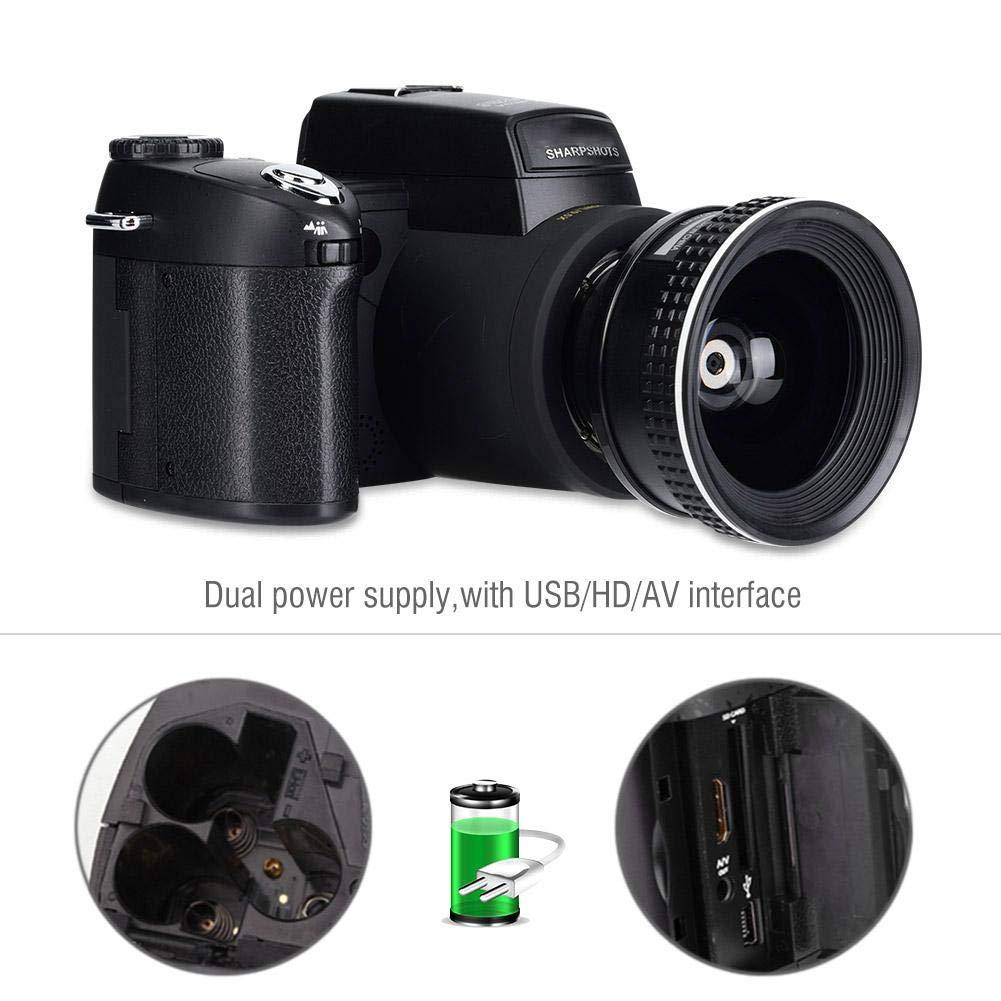 Equipo de videocámara con cámara DSLR, D7300 33MP HD 1080p, Zoom ...