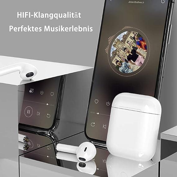 Auriculares inalámbricos, Bluetooth 5.0 táctil, reducción de Ruido ...