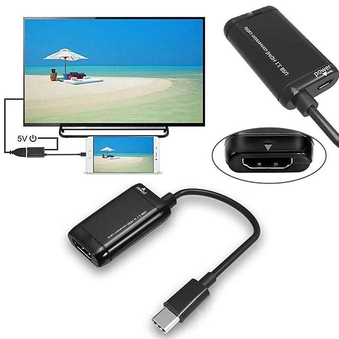 Amazon.com: VanseeUSB-C - Adaptador de USB 3.1 a HDMI para ...