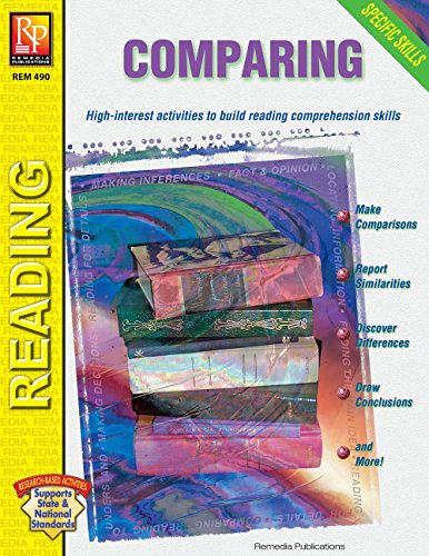 Specific Skills Series: Comparing | Reproducible Activity Book