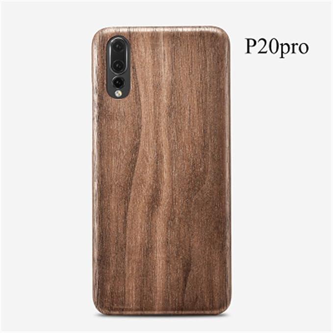 online store b6f98 db7a8 Amazon.com: Huawei P20 Pro Wood Case,DAYJOY Luxury Ultra Thin Ultra ...
