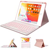 "iPad Keyboard Case 10.2"" 8th/7th Generation for iPad 2020/2019 - Backlit Wireless Detachable BT Keyboard - Built-in…"