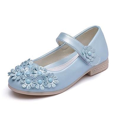 3a0446debc756 Amazon.com   CYBLING Toddler Little Girls Princess Dress Shoes ...