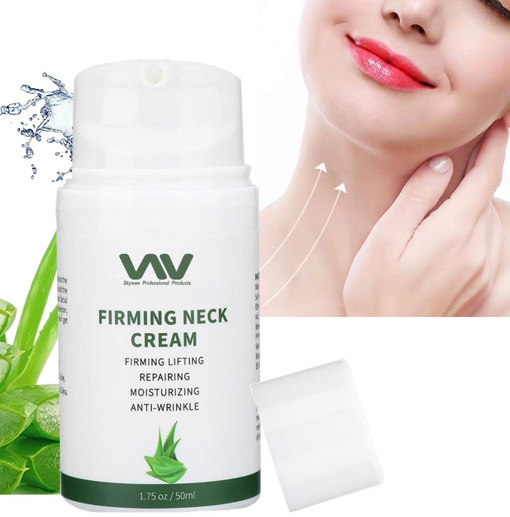 Neck Cream, Anti Aging Neck Firming Tightening Moisturizer Cream Lotion for Wrinkles Fine Lines and Dark Circles