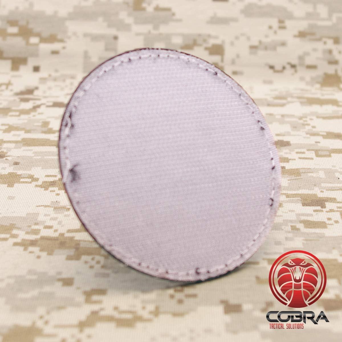 Cobra Tactical Solutions Military Patch en PVC Nations Unies//United Nations//UN PVC Patch avec Fermeture Velcro pour Airsoft//Paintball pour v/êtements Tactiques et Sac /à Dos