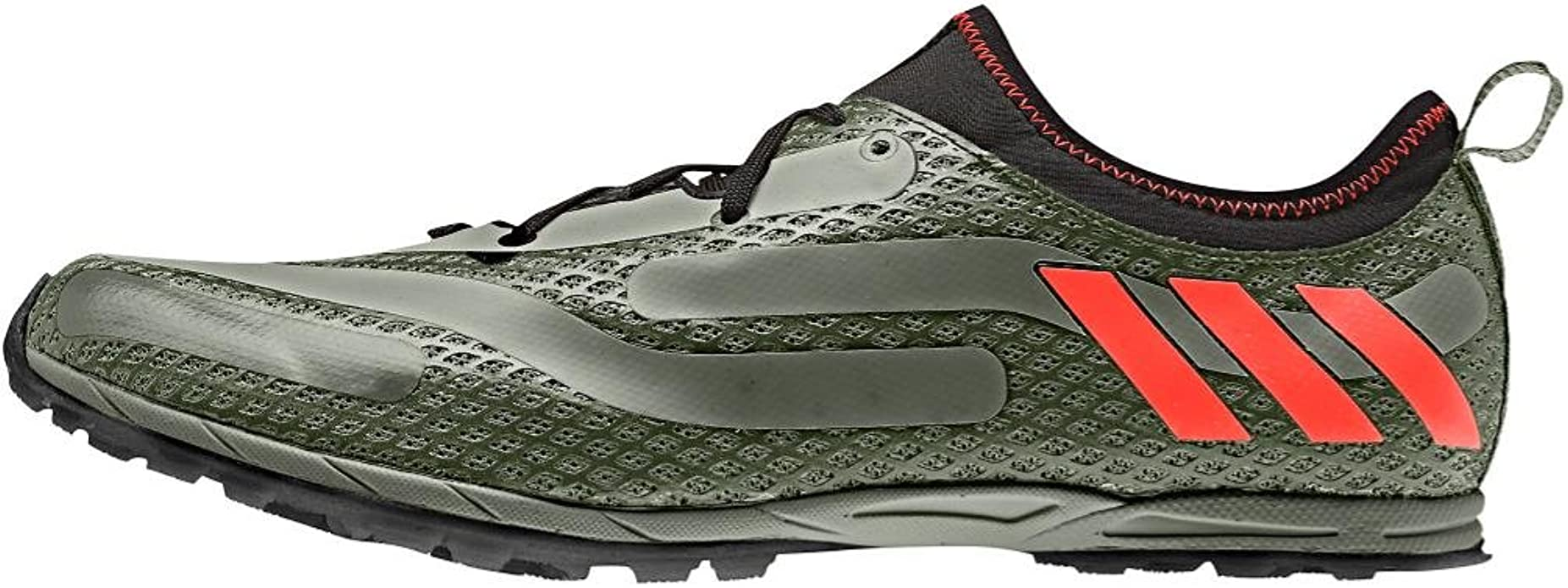 Disfraces A veces Evento  Amazon.com | adidas Men's XCS Spikeless, Green/Red/Black, 7.5 D | Track &  Field & Cross Country