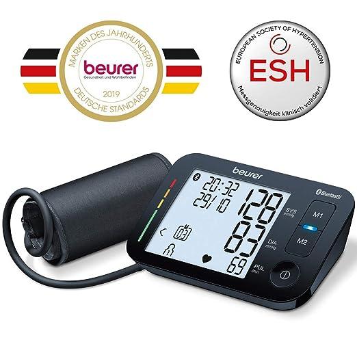 Beurer BM 54 - Tensiómetro de brazo con Bluetooth, color negro: Amazon.es: Salud y cuidado personal