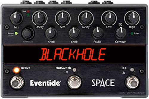 Eventide Space Stomp Box Reverb Guitar Effects Pedal Open Box
