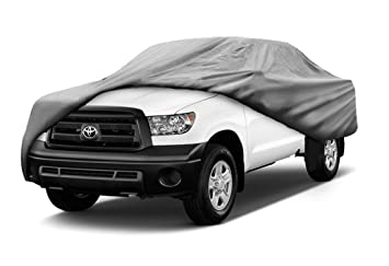 Toyota Tacoma Double Cab >> Amazon Com Sbu 3 Layer All Weather Truck Cover Fits Toyota