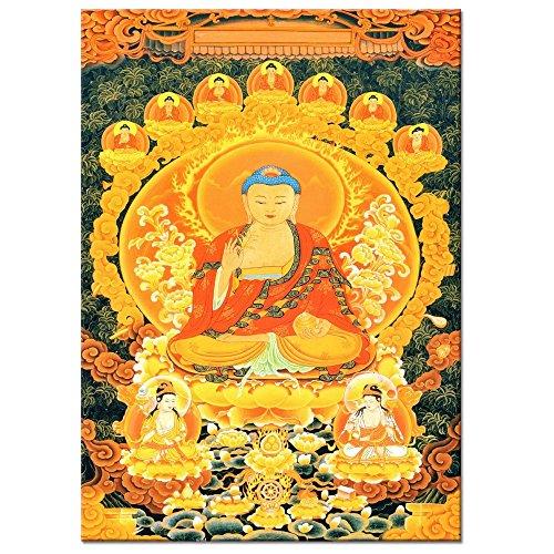 tonka-buddha-painting-printed-on-canvas-buddha-canvas-wall-artframed-and-stretchedlarge-size-mercifu