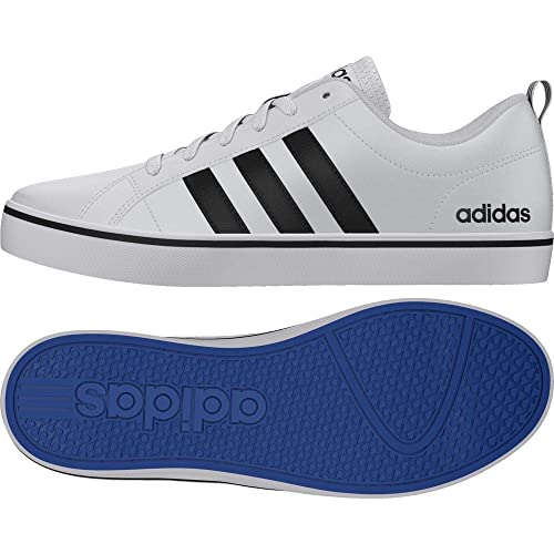 Adidas Pace Vs, Zapatillas para Hombre, Blanco (Footwear White/Core Black/Blue 0), 48 2/3 EU: Amazon.es: Zapatos y complementos
