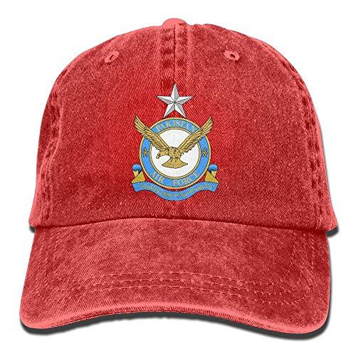 130 Hercules Pakistan Air Force Denim Dad Cap Baseball Hat Adjustable Sun Cap ()