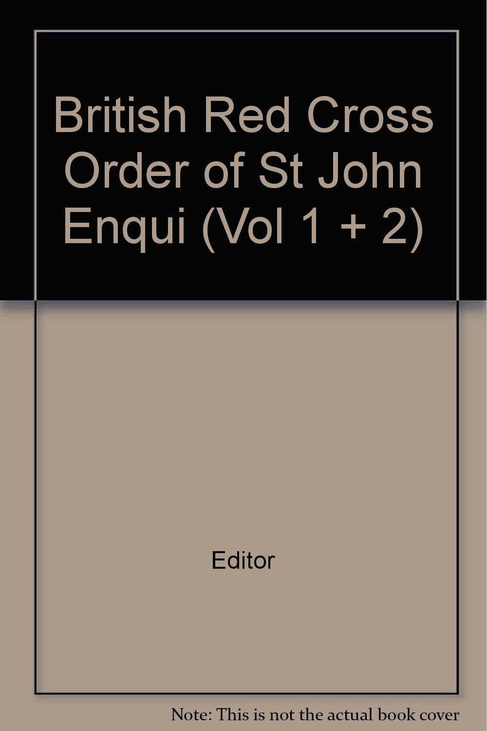 Download BRITISH RED CROSS AND ORDER OF ST JOHN ENQUIRY LIST FOR WOUNDED AND MISSING: OCTOBER 1ST 1918: Part I ebook