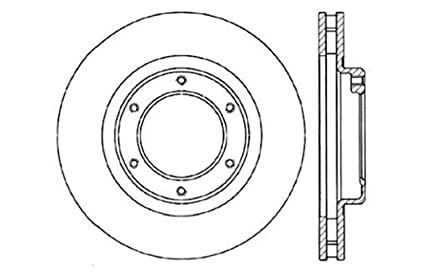 StopTech 127.44044L Sport Drilled//Slotted Brake Rotor 1 Pack Front Left