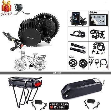 Amazon.com: BAFANG BBSHD BBS03 48/52V 1000W Kit de ...
