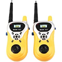 X Zini Battery Operated Plastic Walkie Talkie Set with Extendable Antenna for Extra Range for Kids.