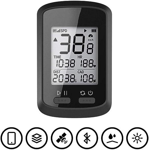 Cuentakilómetros para Bicicleta GPS Cronómetro Cronómetro de ...