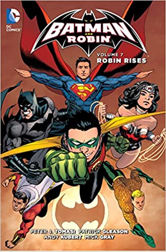 Amazon com: Batman and Robin Vol  7: Robin Rises (The New 52