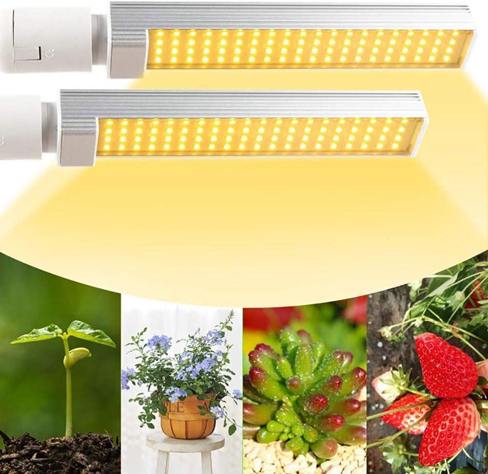 Flexiblem Schwanenhals Zeitschaltuhr 4H//6H//12H Vollespektrum 100W Pflanzenlicht Mit Dualem Austauschbarem E27 Gl/ühbirnen Pflanzenlampe LED
