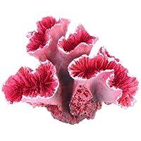 POPETPOP Fishtank Aquarium Decorations Artificial Aquatic Plants Realistic Coral-Aquarium Plants Artificial Fish Tank…