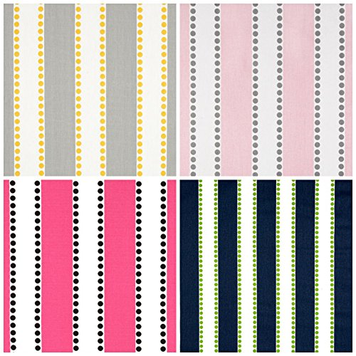 Custom Roman Shade in Lulu Stripes by RCdesigns