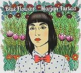 Blue Flowers by Marjan Farsad