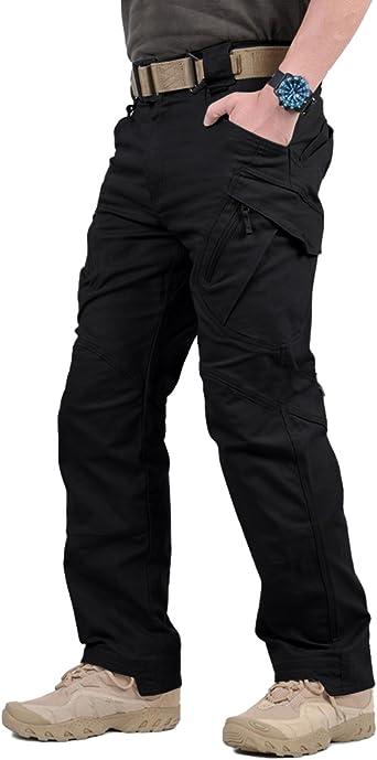 Amazon Com Tacvasen Pantalones Tacticos Para Exteriores Ligeros Tipo Cargo De Asalto Para Hombre Clothing