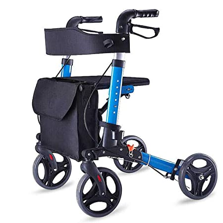 Carritos de la compra Plegable Andador para Caminar muletas ...
