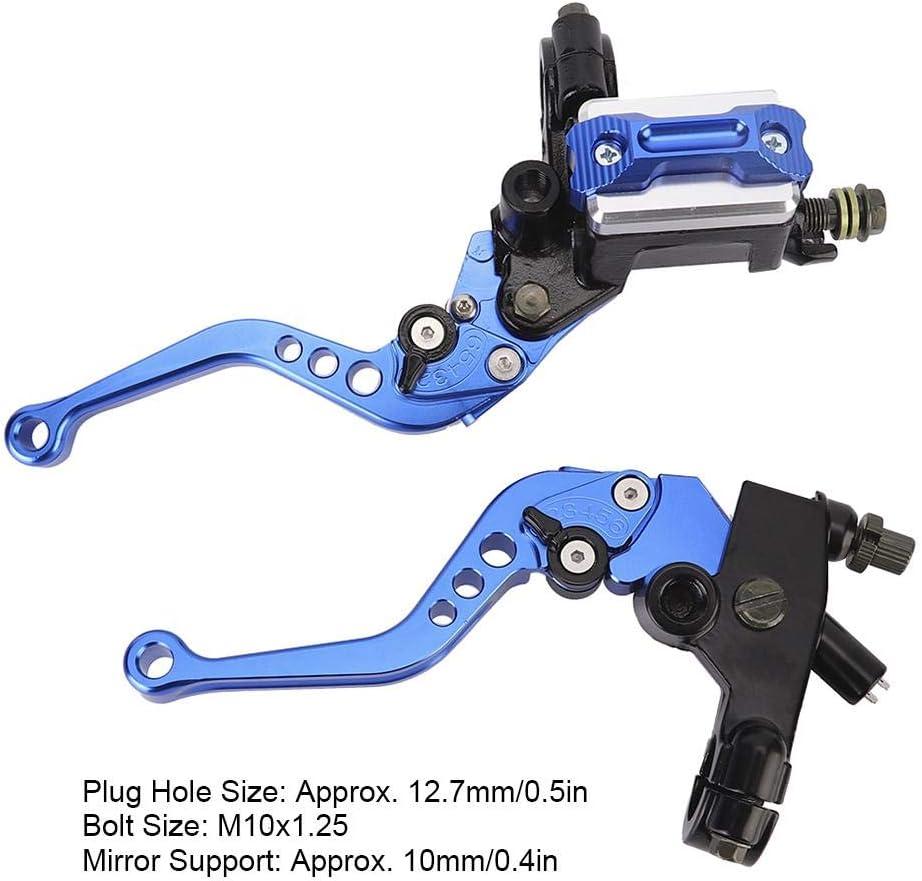 freno universale a mano per moto frizione leva leva gruppo blu Freno a mano per moto