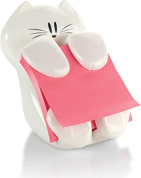 Post-it Pop-up Note Dispenser, Cat design, 3 in x 3 in , 1 Dispenser/Pack (CAT-330)