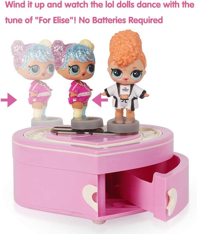 Amazon.es: HAHAone Caja de música Compatible con el Juguete LOL (muñecas no Incluidas), contenedor de Almacenamiento para Accesorio de muñeca: Juguetes y juegos
