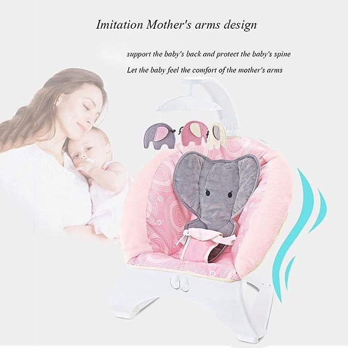Silla Mecedora Para Bebé Música Cuna Para Bebé Sillón Reclinable ...