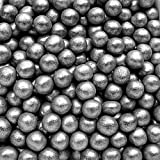 Natural Color Silver Dragees Edible Pearls 6mm cake cupcake decorations