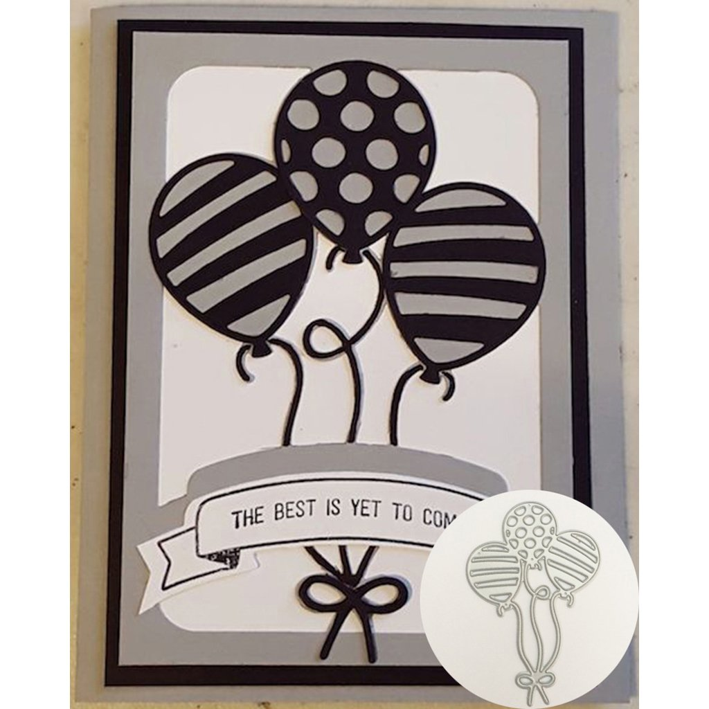 Yeahii Balloon Cutting Dies Stencil DIY Scrapbooking Embossing Album Paper Card Crafts by Yeahii (Image #7)
