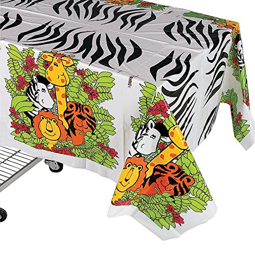 Fun Express IN 25 1887 Animal Tablecloth