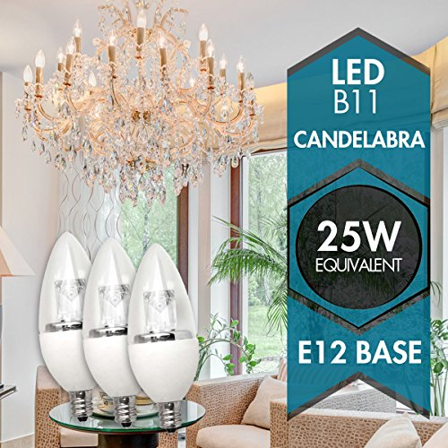 Tcp 25w Equivalent Led Decorative Torpedo Light Bulbs
