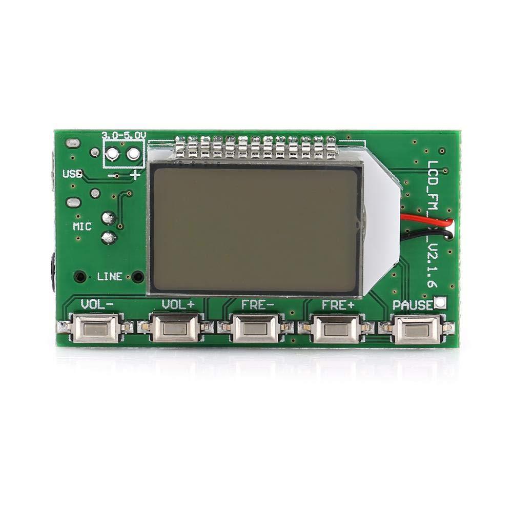 Transmetteurs FM Accessoires pour lecteur MP3 et MP4 Microphone sans fil num/érique St/ér/éo 87-108 MHz DSP /& PLL