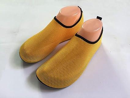 Zapatos Playas,YiYLunneo Zapatos para Niño Agua de Natación Zapatillas de Niños Descalzo Barefoot Aqua Calcetines para la Piscina de Playa Surf Yoga: ...