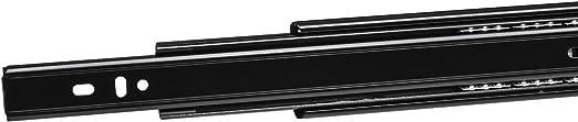 SO-TECH/® Vollausz/üge Schubladenschienen 750 mm kugelgelagert Tragkraft 45 Kg 4 Paar eingeschoben 8 ST/ÜCK